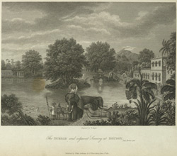 The Durbar and Adjacent Scenery at Dhuboy